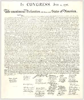 Analysis of Declaration of Independence essays